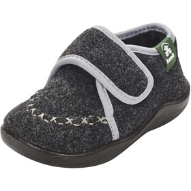Kamik Cozylodge Shoes Kids black/charcoal-noir/charbon